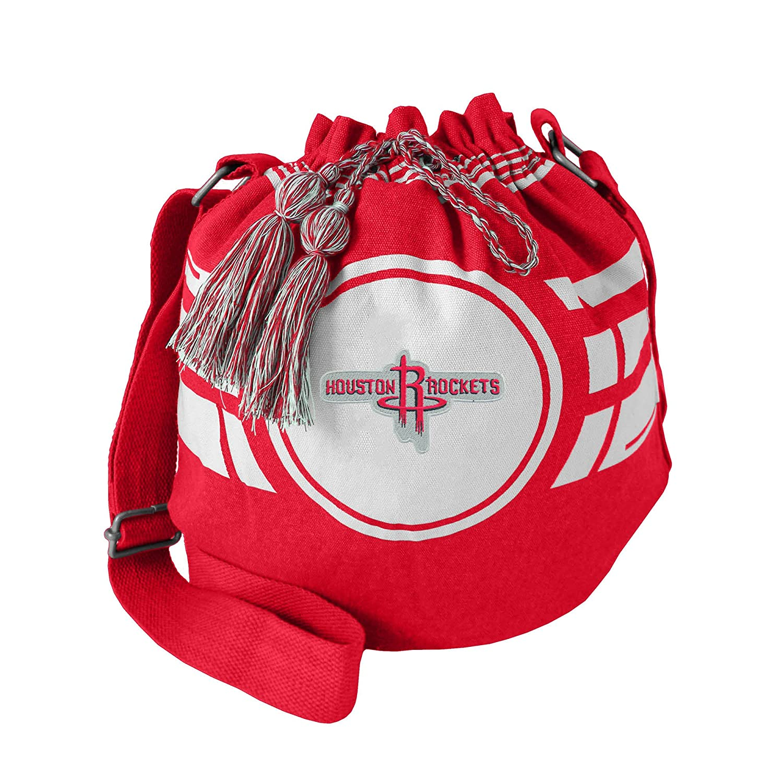 a21d5c3b4 Littlearth NBA Ripple Drawstring Bucket Bag Little Earth 700117-AHWK-BLCK