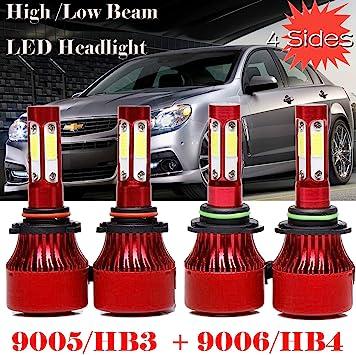 320W 32000LM H7 DRL LED Conversion Headlight KIT 6000K Bulbs White Pair For VW