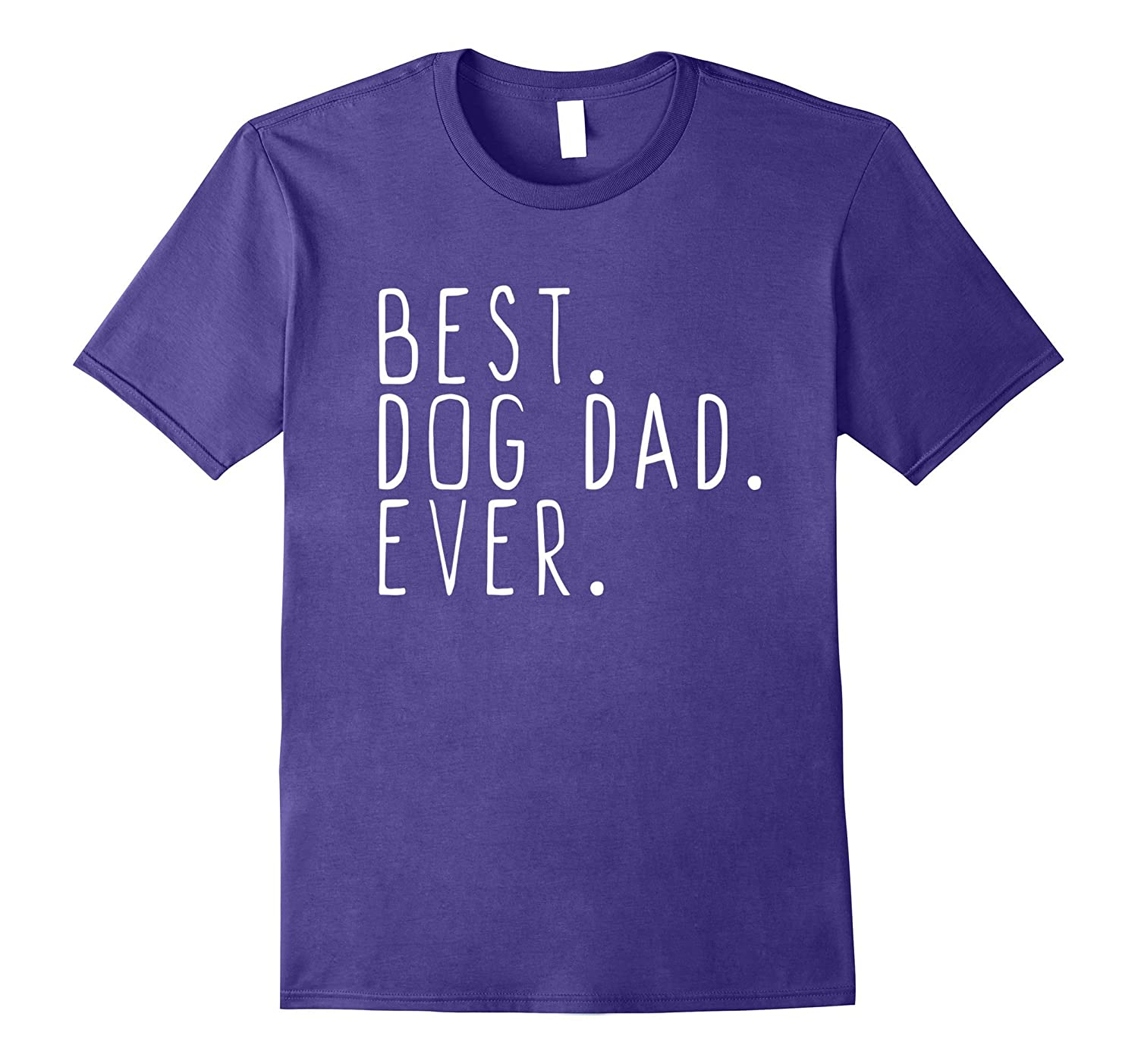 Mens Best Dog Dad Ever T-Shirt-BN
