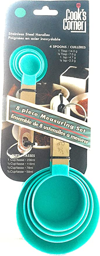 10 Pièce Bleu Measuring Cups /& cuillères Set cuisson cuisson ustensiles de cuisine outil