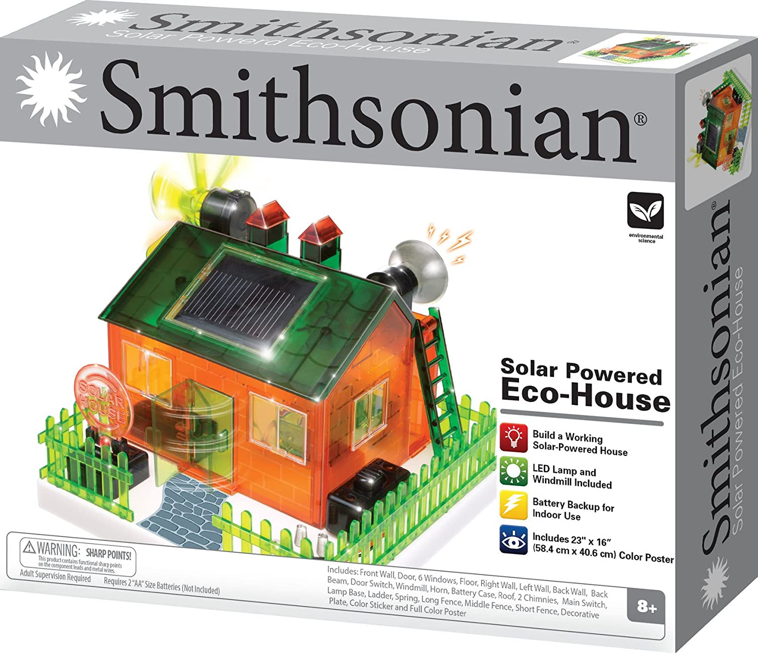 Amazon Smithsonian Science Activities Eco House Kit Toys & Games