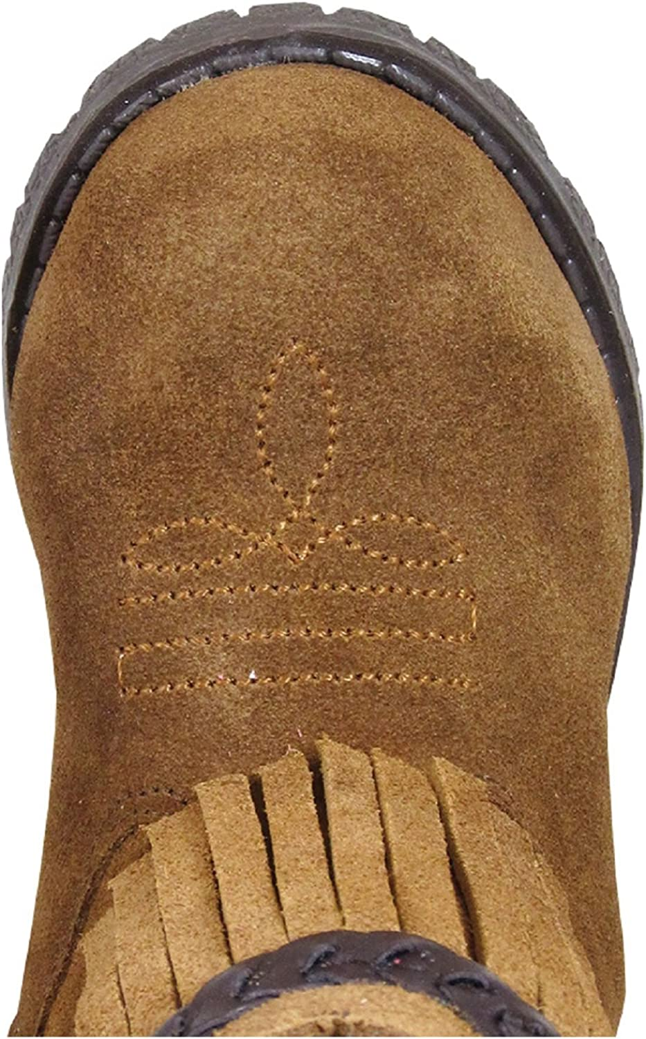 Smoky Mountain Childs Western Mesa Square Toe Boots Brown Distress//Black