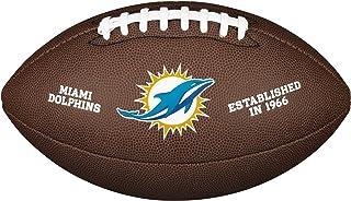 WILSON Miami Dolphins Logo Official Football