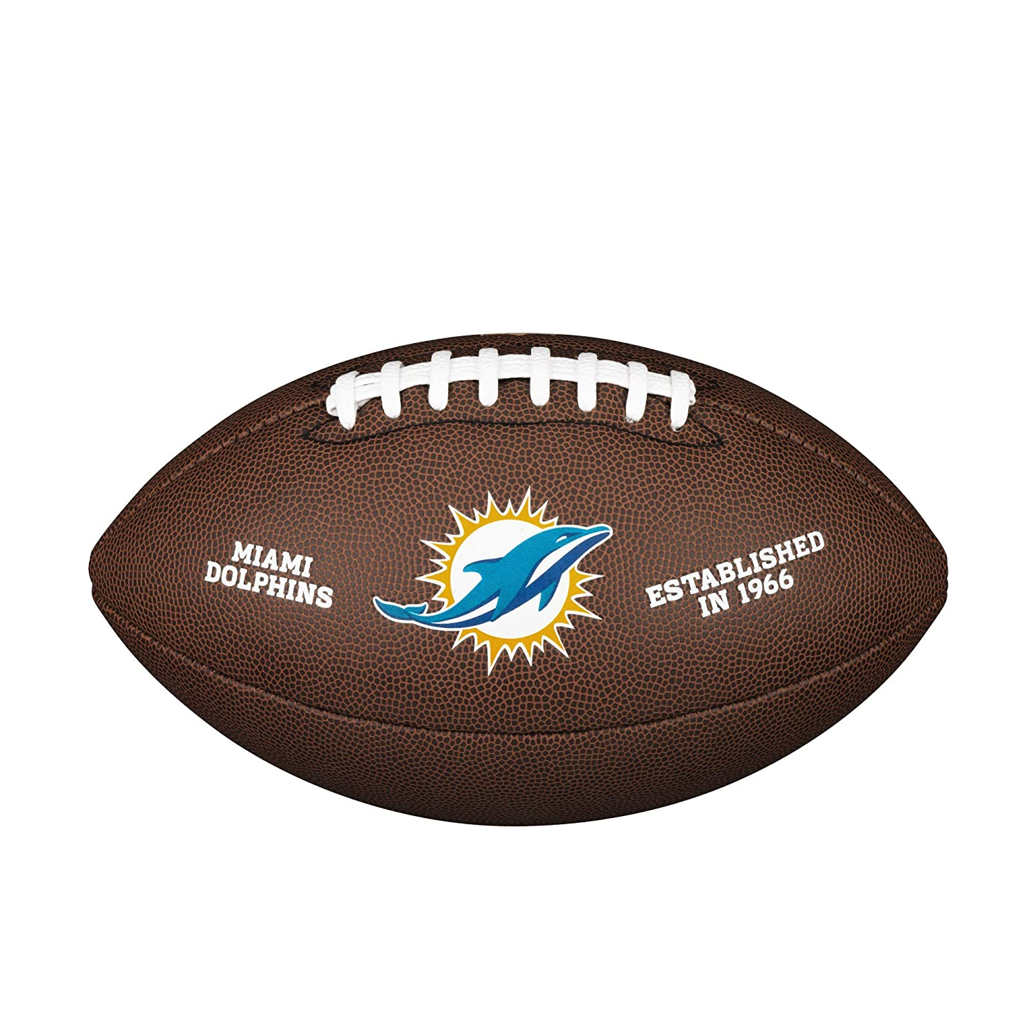 Wilson Miami Dolphins Logo Official Football WTF1748MIA