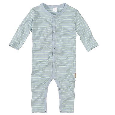 wellyou Pijamas Rayas una Pieza de Manga Larga ni/ños peque/ños Finas 100/% algod/ón Tallas 56-134 Rayas Azul Celeste Pijamas para ni/ños y ni/ñas