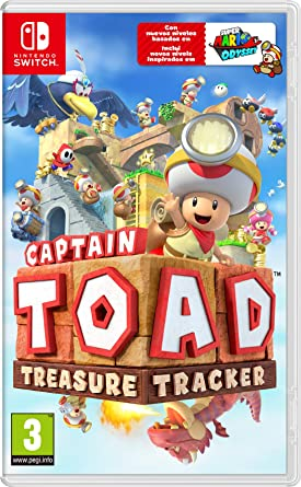 Resultado de imagen de portada Captain Toad: Treasure Tracker nintendo switch