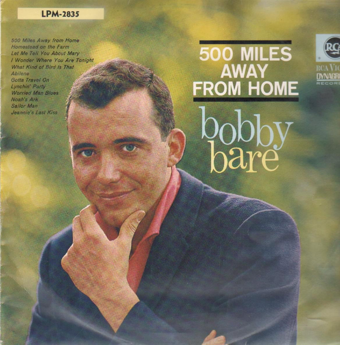 500 miles away from home — bobby bare | last. Fm.