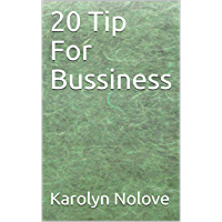 20 Tip For Bussiness (English Edition)