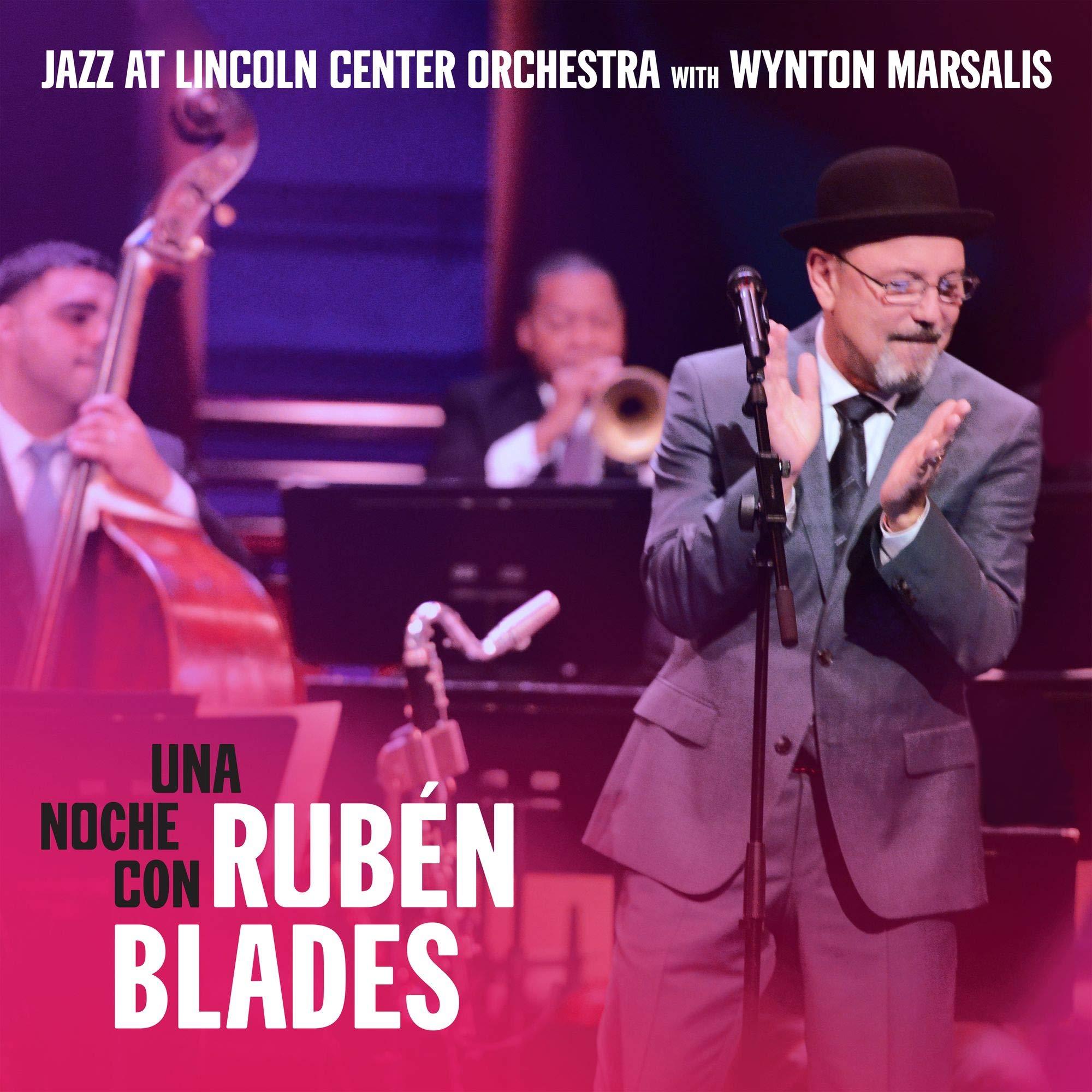 CD : JAZZ AT LINCOLN CENTER ORCHESTRA WITH WYNTON MARSALIS FEATURING RUBEN BLADES - Una Noche Con Ruben Blades (CD)