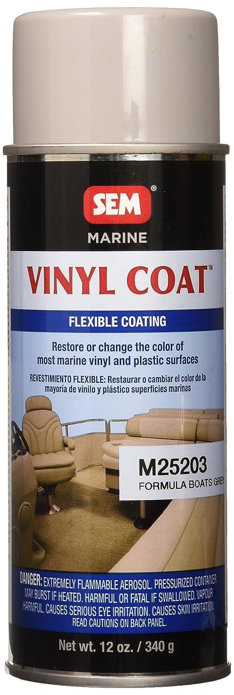 SEM M25203 Formula Boat Grey Marine Vinyl Coat - 16 oz.