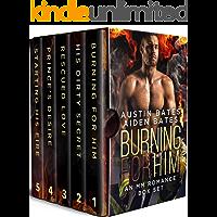 Burning For Him: A Contemporary Mpreg Bundle (English Edition)