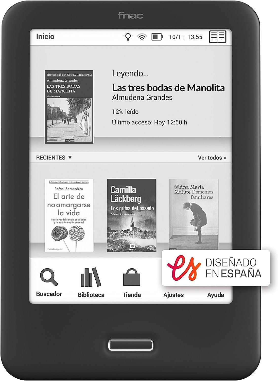 BQ Fnac Touch Light 2 - Lector de Libros electrónicos de 6