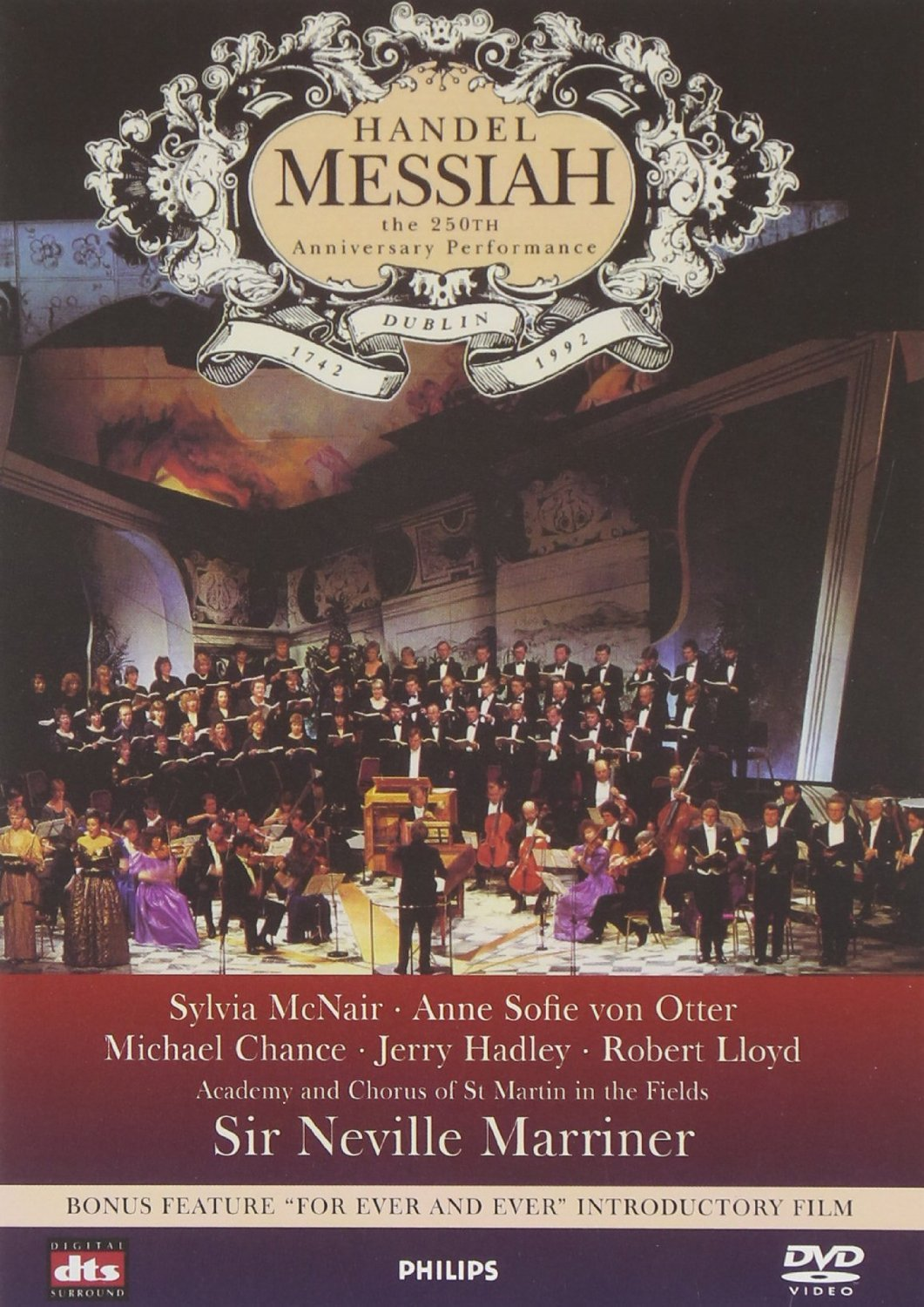 DVD : Jerry Hadley - Messiah: 250th Anniversary Performance (Anniversary Edition)