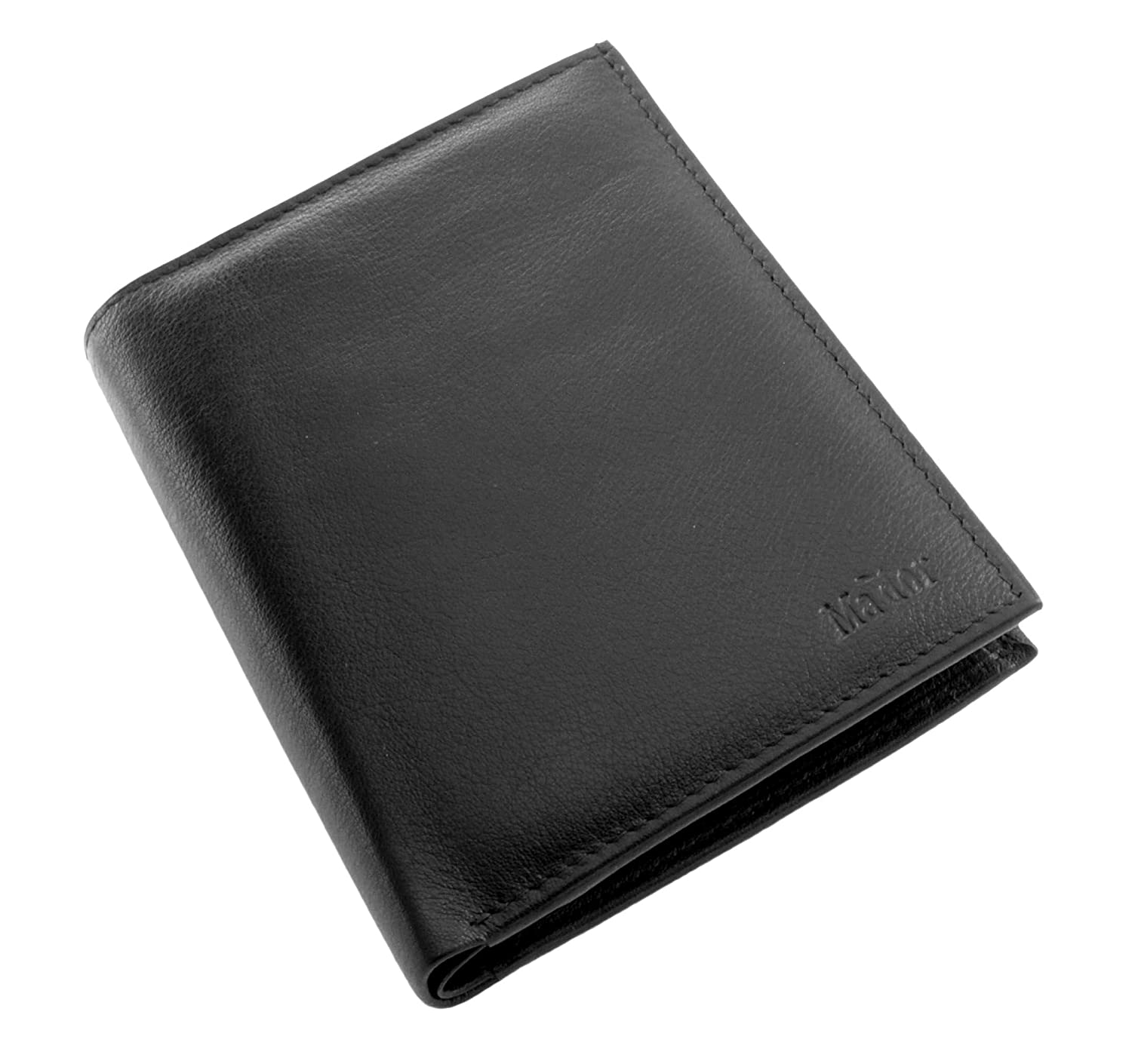 11 cm Mador Wallet MA-35518 Coin Pouch Black