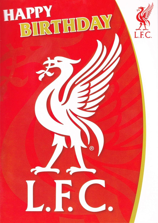 Musical Birthday Card Liverpool F.C