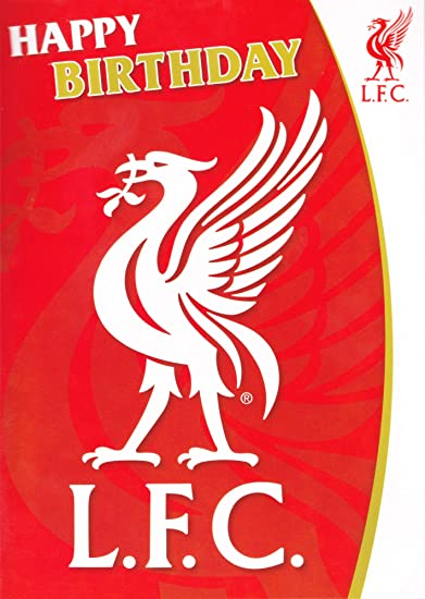 Buy Liverpool Fc Liverbird Musical Birthday Card Online At Low Prices In India
