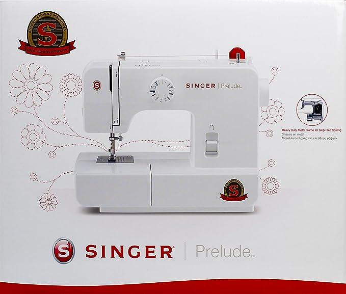 Singer Prelude - Máquina de coser (13 puntadas utilitarias y decorativas): Amazon.es: Hogar