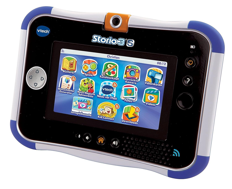 blau Vtech 80-158804 Storio 3S Lern-Tablet