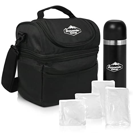 678732d12c67ff Dynamic Gear Refrigerated Lunch Box Tote Bag, Large, Adults/Men/Women,