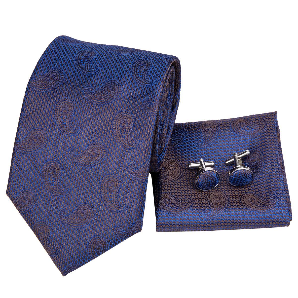 Hi-Tie - Corbata - para hombre Azul azul marino Talla única ...