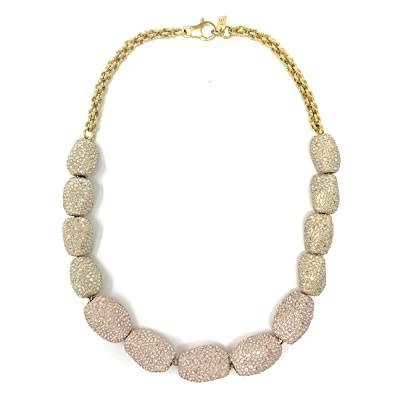 589a5cdf4e7aa Atelier Swarovski Gold Plated Regent Chocker Necklace: Amazon.co.uk ...