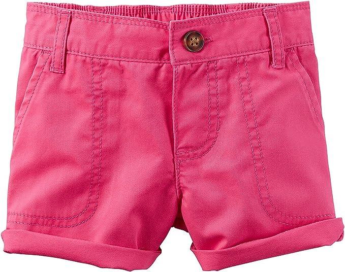 Carters Baby Girls Drawstring Shorts