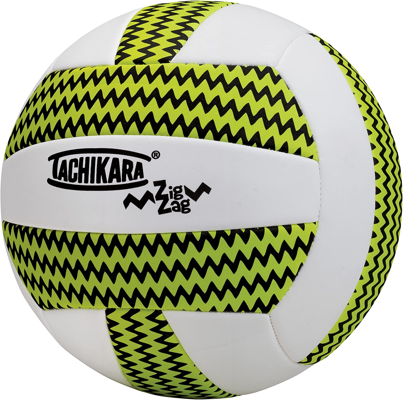 Tachikara Balón de voleibol Zigzag, tecnología SofTec - ZIGZAG ...