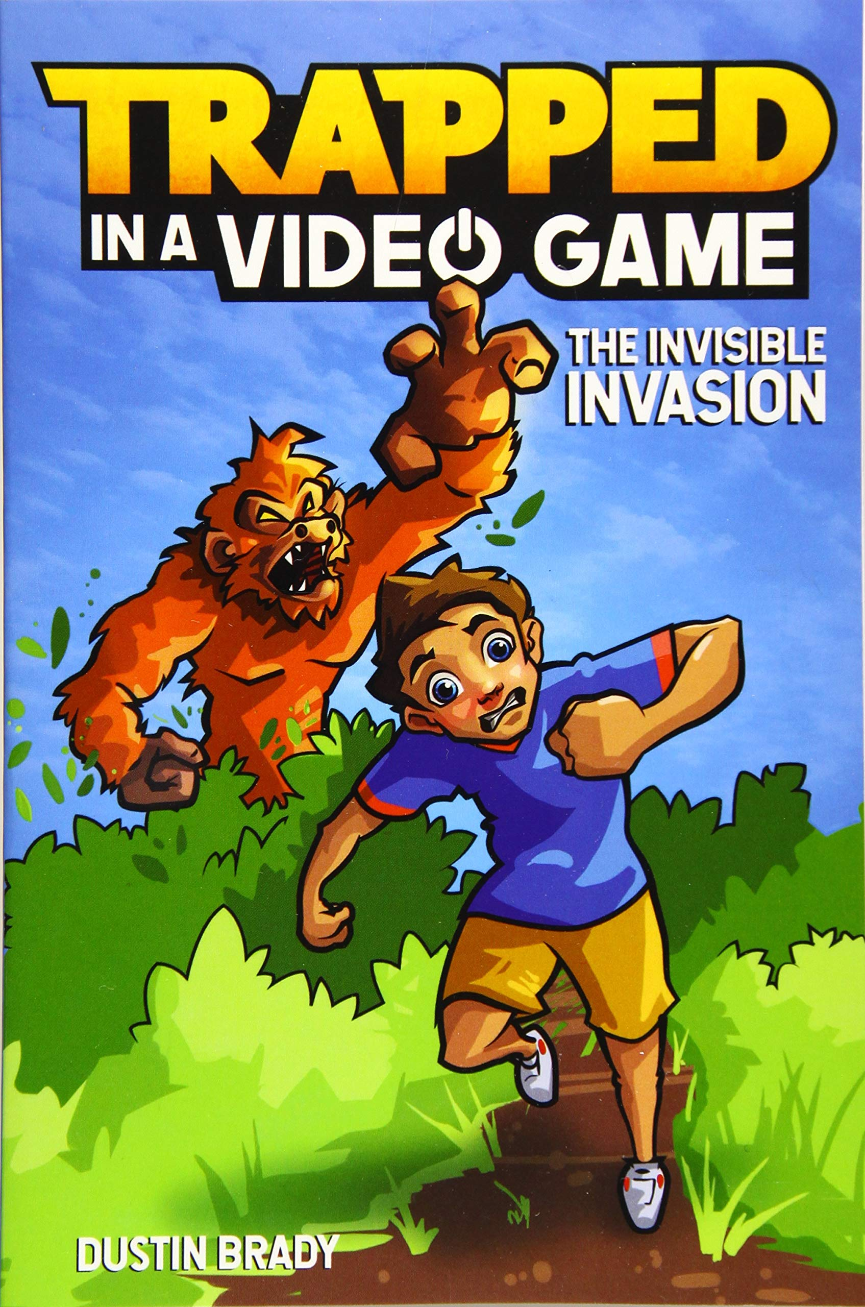 Trapped Video Game Book Invisible product image