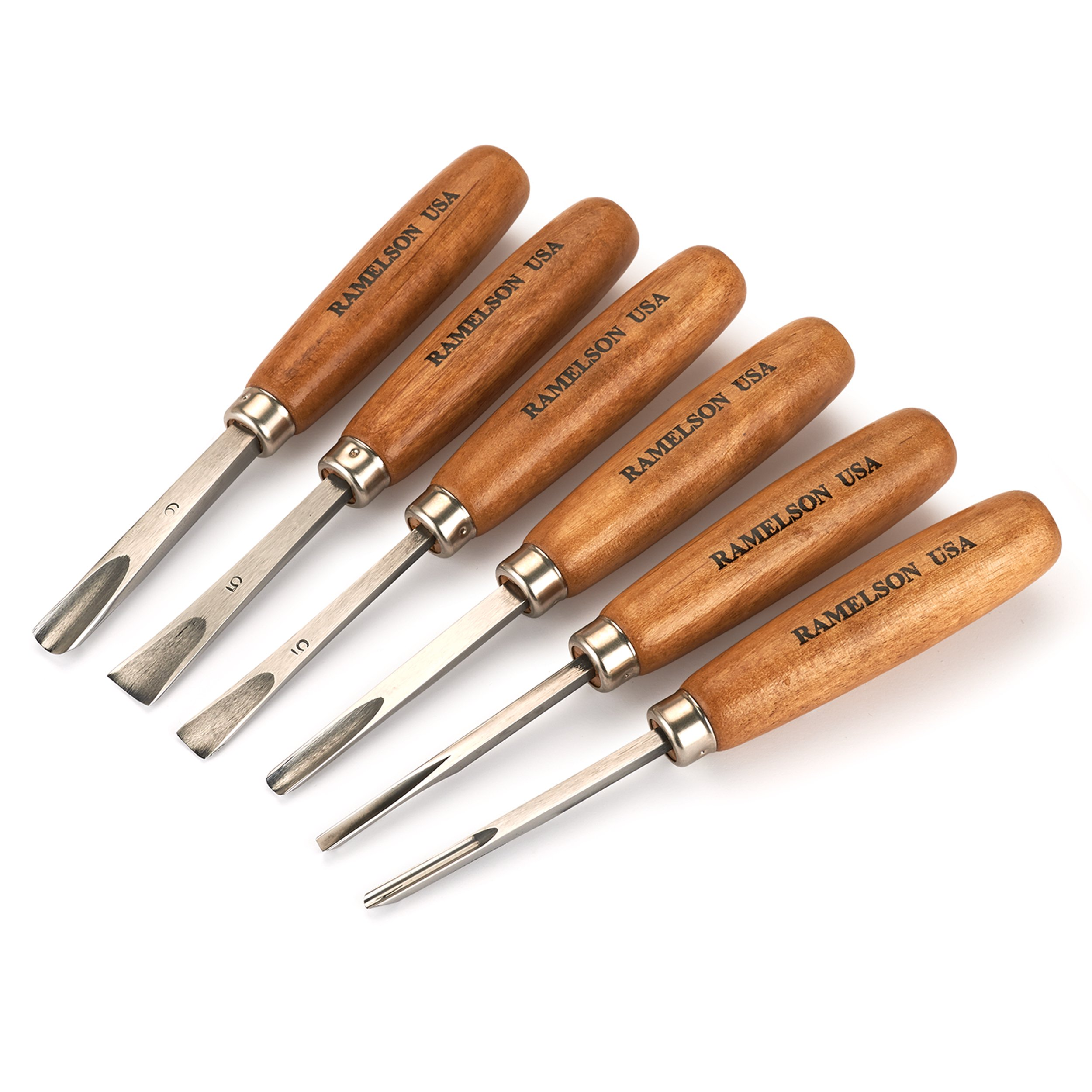 Ramelson Carving Set of 6 Tools