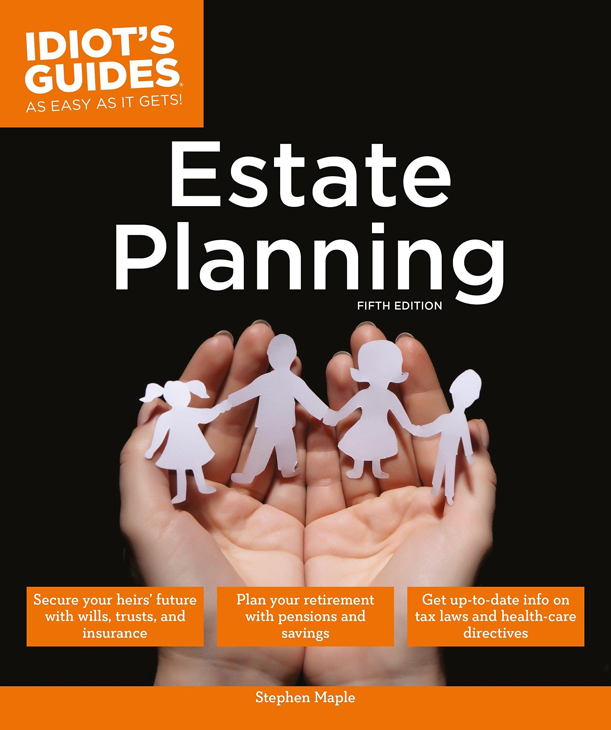 Estate Planning, 5E (Idiot's Guides)
