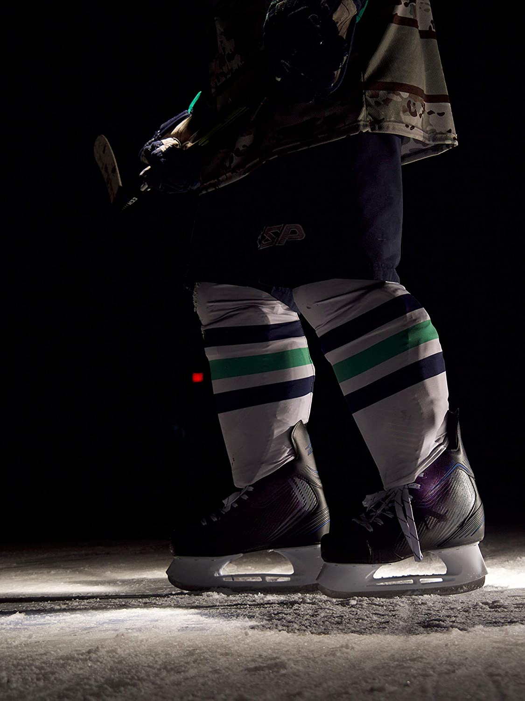 Black American Athletic Shoe Mens Ice Force Hockey Skates