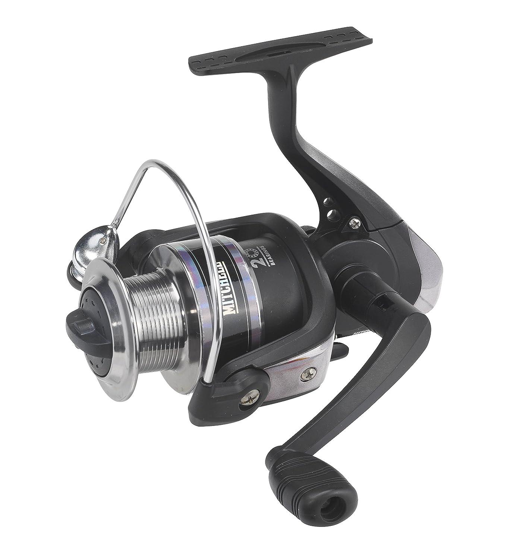 Color Negro Carrete de Pesca de lanzado Mitchell Tanager