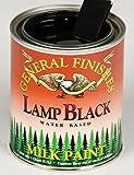 General Finishes QLB Milk Paint, 1 quart, Lamp Black
