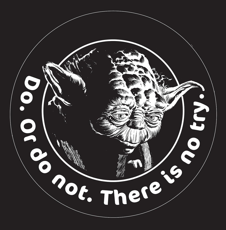 Chroma 3941 Star Wars Yoda Die Cutz Decal