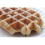 12 Authentic Fresh Belgian Liege Waffles (Vacuum Sealed)