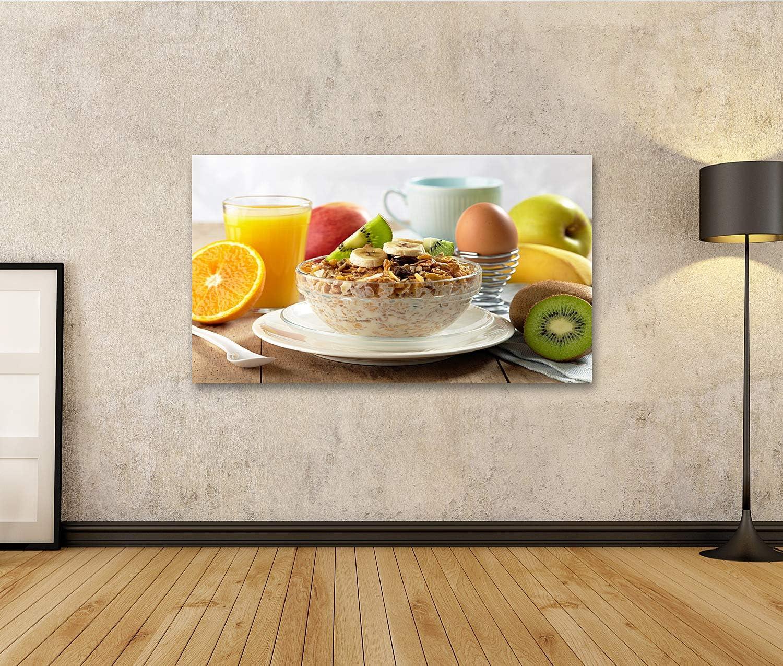 islandburner Tableau Tableaux Petit-d/éjeuner sain Cadre sur Toile Impression Photo Affiches