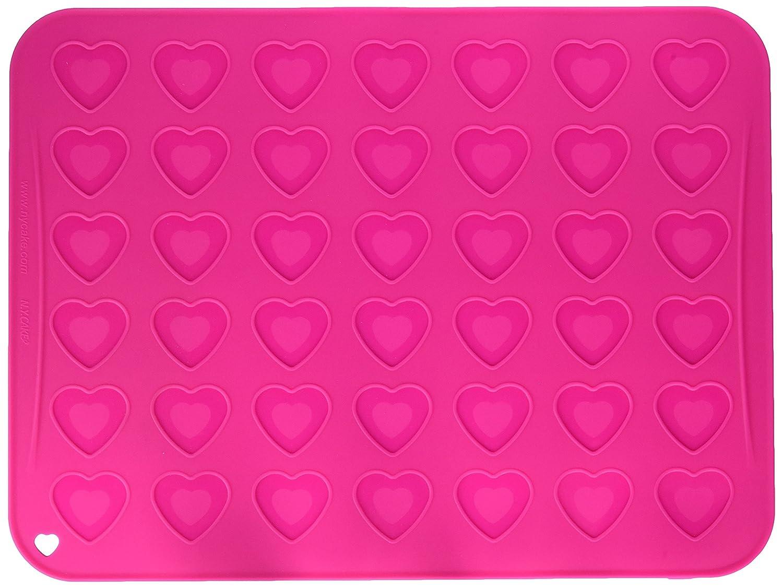 Heart Macaron Mat NY Cake SBM4040