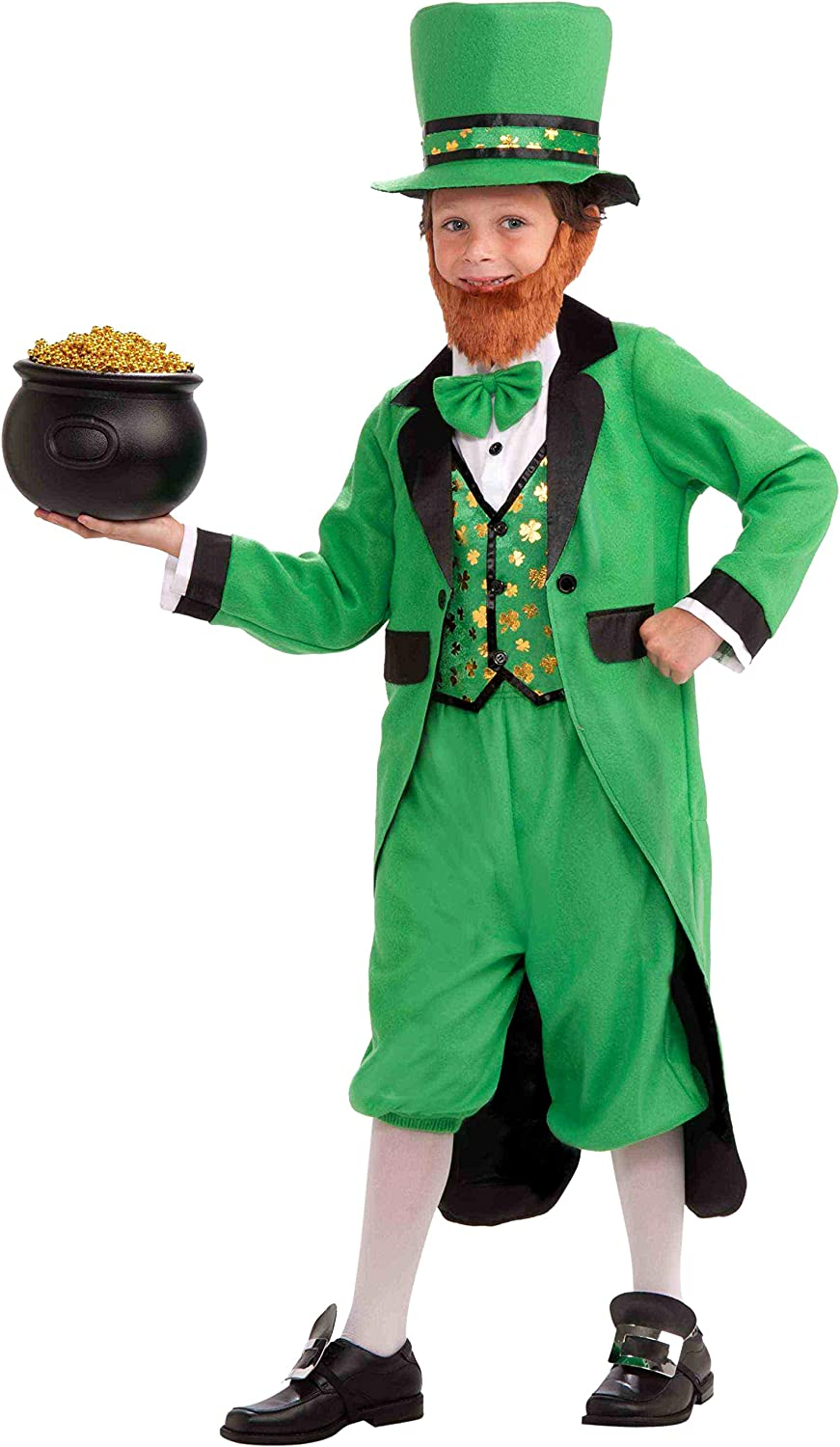 Amazon.com: Disfraz completo de Mr. Leprechaun talla mediana ...