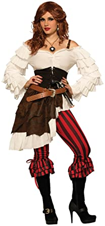 Amazon.com Forum Novelties Womenu0027s Renegade Ruby Pirate Costume Clothing  sc 1 st  Amazon.com & Amazon.com: Forum Novelties Womenu0027s Renegade Ruby Pirate Costume ...
