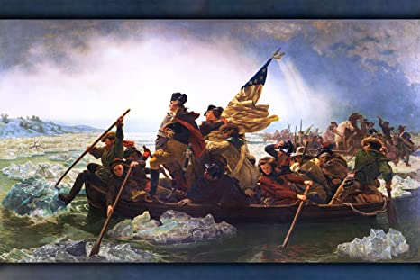 Amazon.com: George Washington Crossing the Delaware - 24