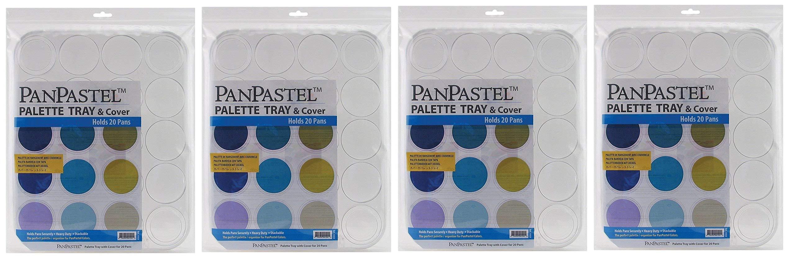 Panpastel 20 Cavity Palette Tray (Fоur Paсk)