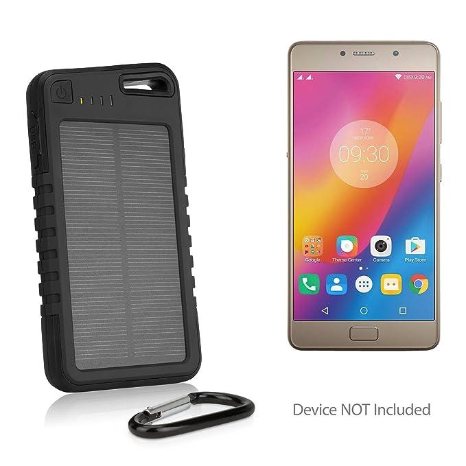Amazon com: Lenovo P2 Battery, BoxWave [Solar Rejuva