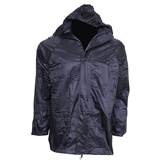 Mens Waterproof Hooded Lightweight Outdoor Rain Jacket: Amazon.co ...