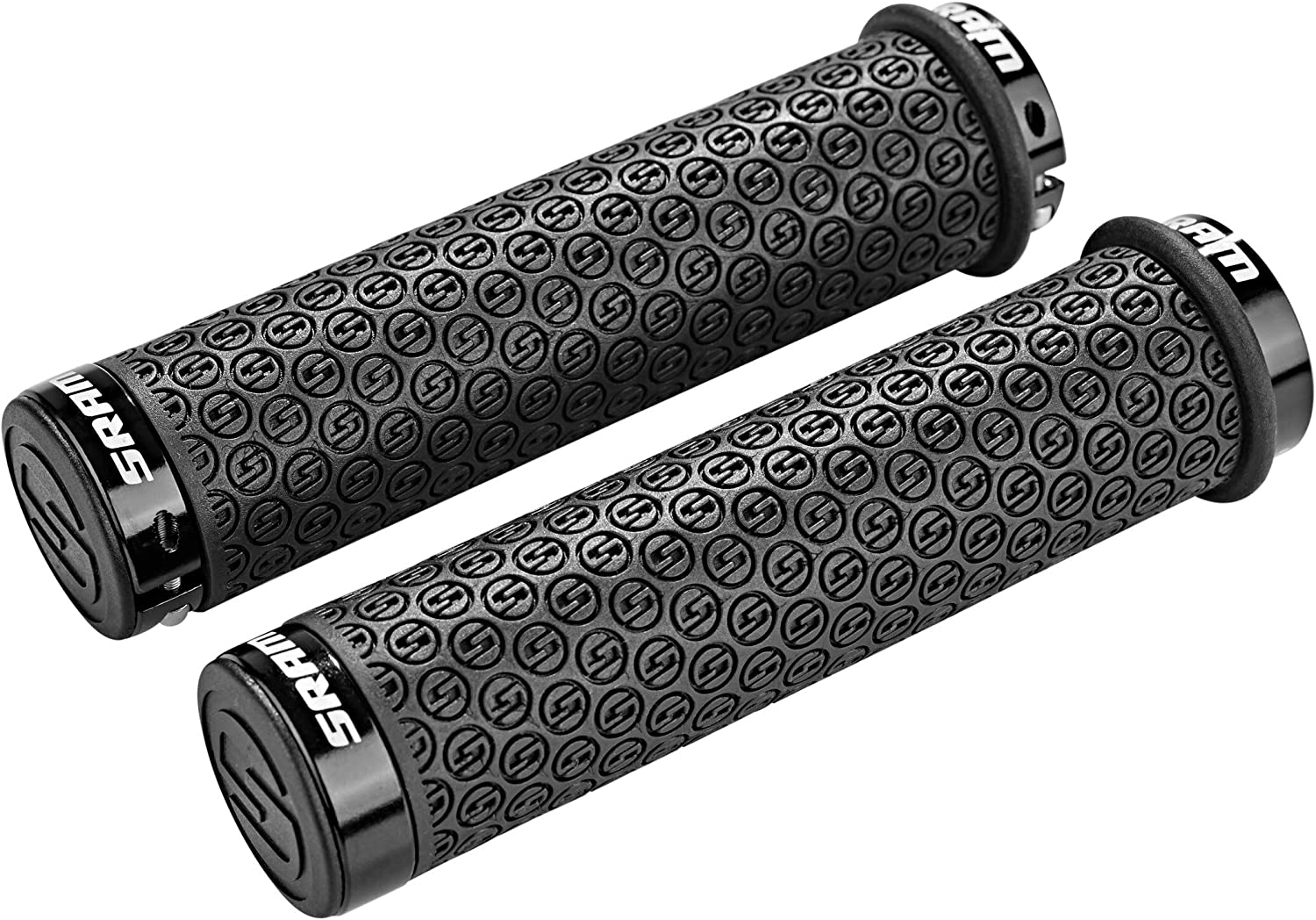 5E7C Rubber Ends Handlebar Bicycle Handlebar Bar Grips 2018 Mountain Bike MTB