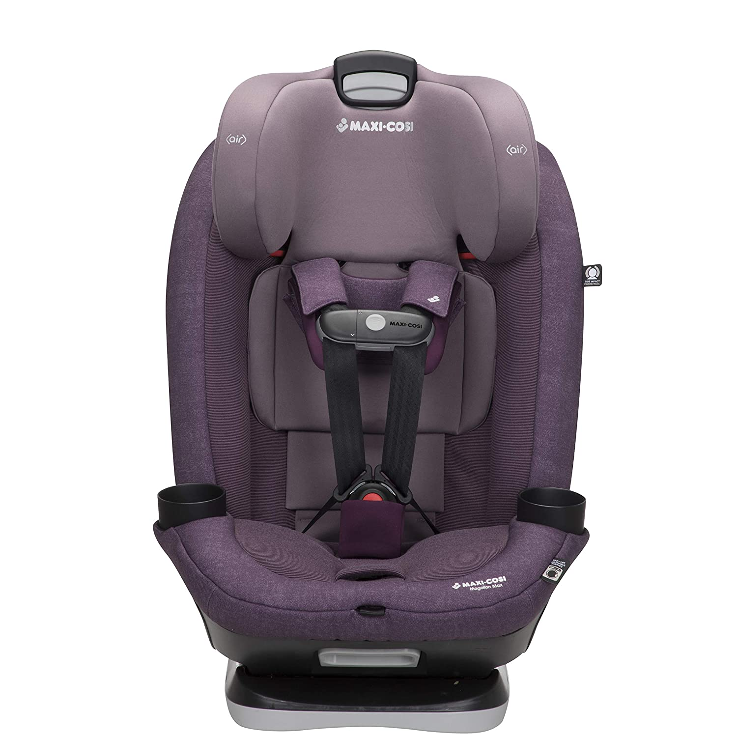 Maxi-Cosi Magellan Max All-in-One Convertible Car Seat with 5 Modes and Magnetic Chest Clip, Nomad Purple
