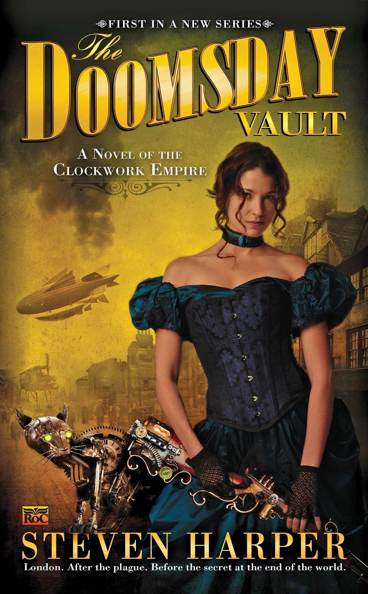 Read Online The Doomsday Vault: A Novel of the Clockwork Empire pdf