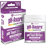 pH Test Strips 120ct - Tests Body pH Levels for Alkaline & Acid Levels Using Saliva & Urine. Track & Monitor Your pH Balance & A Healthy Diet, Get Accurate Results in s. pH Scale 4.5-9