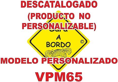 Adhesivo personalizado Bebé a bordo VPC65. DISEÑO EXCLUSIVO ...