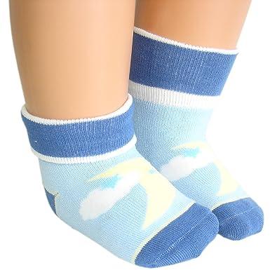 JHosiery Baby Jungen Anti-Rutsch Winter Handtuch Socken mit nahtloser Zehe
