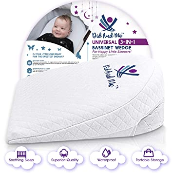 hiccapop FOLDABLE Safe Lift Universal Crib Wedge for Baby Mattress and Sleep 0-3